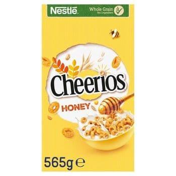 Nestle Honey Cheerios Cereal 565G