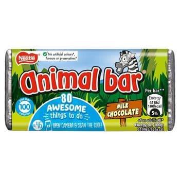 Nestle Milk Chocolate Animal Bar Single