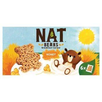 Nestle Nat. Bears Honey Cereal 6X32g