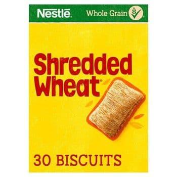 Nestle Shredded Wheat Cereal 30 Pack 675G