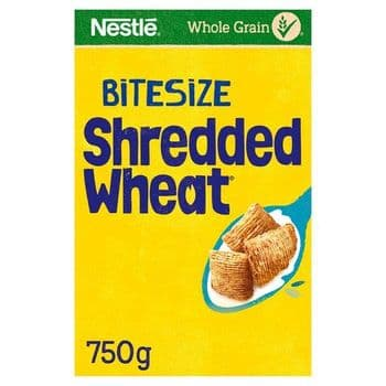 Nestle Shredded Wheat Cereal Bitesize 750G