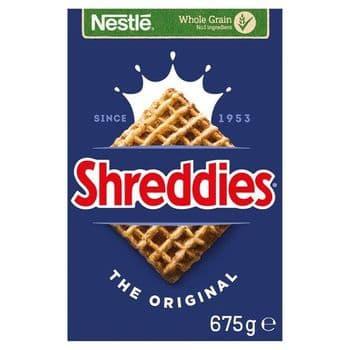 Nestle Shreddies Original Cereal 675G