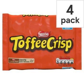 Nestle Toffee Crisp 4 X 38G