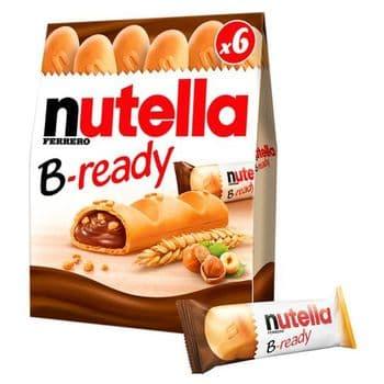 Nutella B-Ready 6 X 22G
