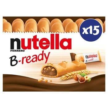 Nutella B-Ready Chocolate Wafers 15 X 22G