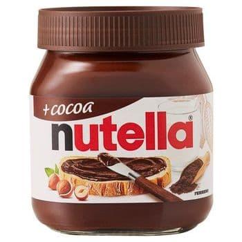 Nutella Plus Cocoa Chocolate & Hazelnut Spread 350G
