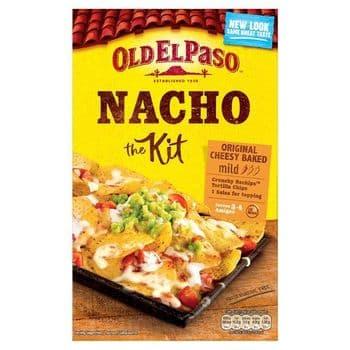 Old El Paso Original Cheesy Baked Nacho Kit 505G