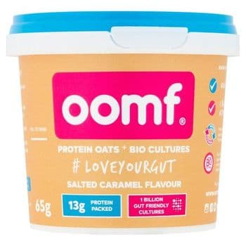 Oomf Protein Oats & Biological Culture Salted Caramel Flavoured 65G