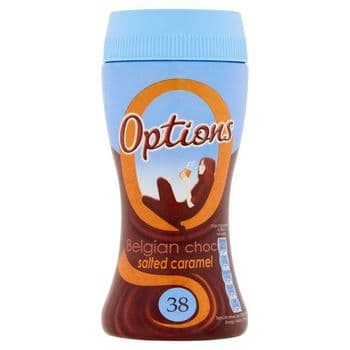 Options Hot Chocolate Salted Caramel 220G