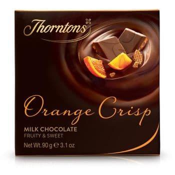 Orange Crisp Chocolate Block (90g)