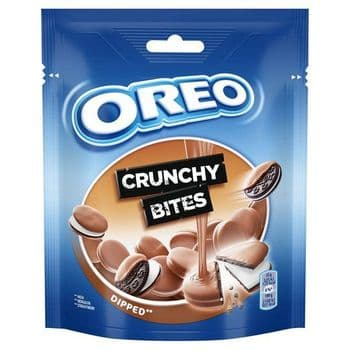 Oreo Crunchy Bites Milk Chocolate Biscuits 110G