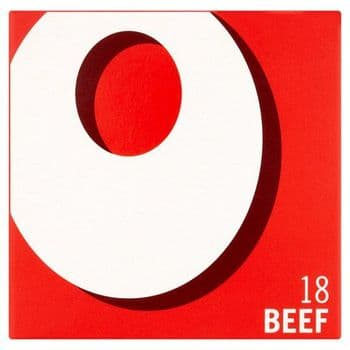 Oxo 18 Beef Stock Cubes 106G