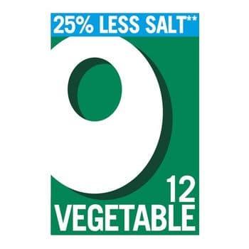 Oxo Reduced Salt Cube Vegetable 12 Pack 71G