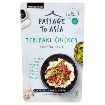 Passage To Asia Teriyaki Chicken Stir Fry Sauce 200G