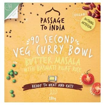 Passage To India Butter Masala With Rice 280G