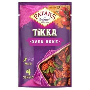 Patak's Tikka Oven Bake Marinade 120G