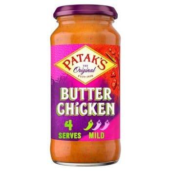 Pataks Butter Chicken Cooking Sauce 450G