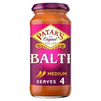 Pataks Medium Balti Cooking Sauce 450G