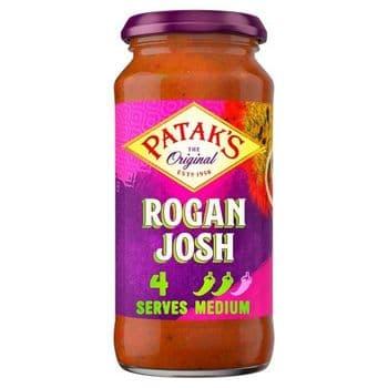 Pataks Medium Hot Rogan Josh Sauce 450G