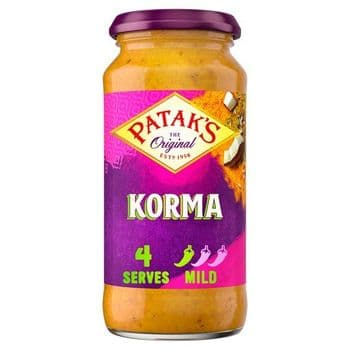 Pataks Mild Korma Sauce 450G