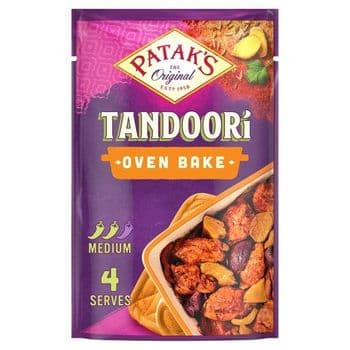 Pataks Oven Bake Tandoori 120G