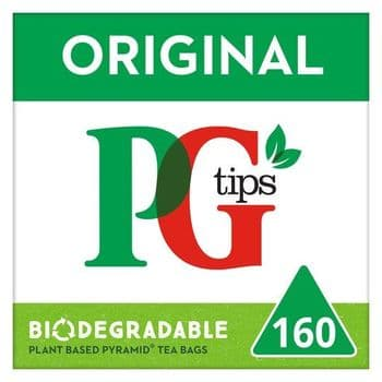 Pg Tips 160S Pyramid Teabags 464G G