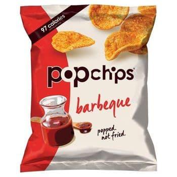 Popchips Bbq Popped Potato Chips 23G