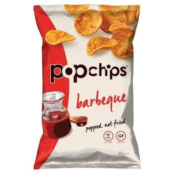 Popchips Bbq Popped Potato Chips 85G