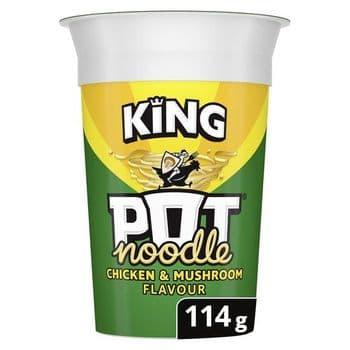 Pot Noodle King Chicken & Mushroom 114G