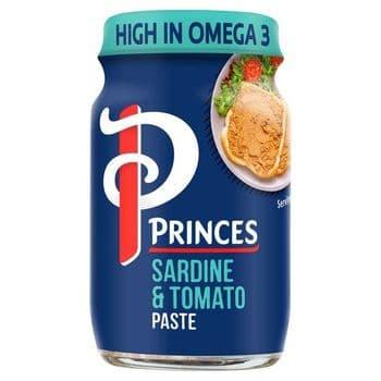 Princes Sardine & Tomato Paste 75G