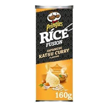 Pringles Rice Fusion Japanese Katsu Curry 160G