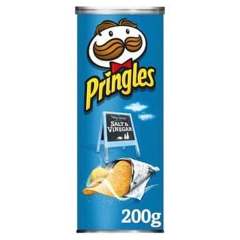 Pringles Salt And Vinegar 200G