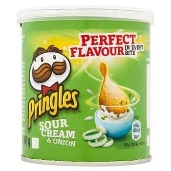 Pringles Sour Cream & Onion 40G