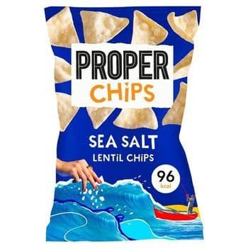 Proper Chips Sea Salt Lentil Chips 20G