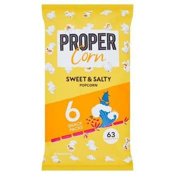 Propercorn Sweet & Salty Popcorn 6X14g