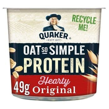 Quaker Oat So Simple Protein Original Porridge Pot 49G