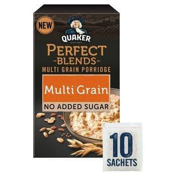 Quaker Perfect Blends Multigrain Porridge 10 Pack 320G