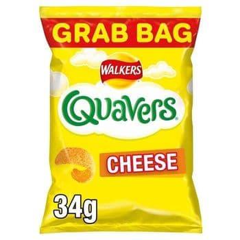 Quavers Cheese Grab Bag 34G