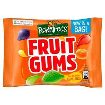 Rowntree's Fruit Gums Sweet Bag 43.5G