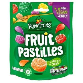 Rowntrees Fruit Pastilles Pouch Bag 150G