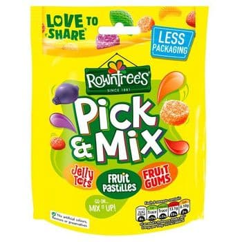 Rowntrees Pick & Mix Pouch Bag 150G