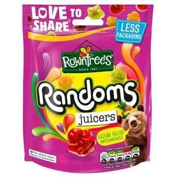 Rowntrees Randoms Juicers 140G