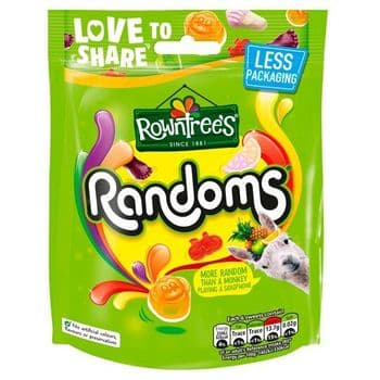 Rowntrees Randoms Pouch 150G
