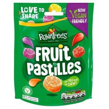 Rowntrees Vegan Fruit Pastilles 143G