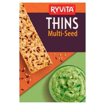 Ryvita Multiseed Thins 125G