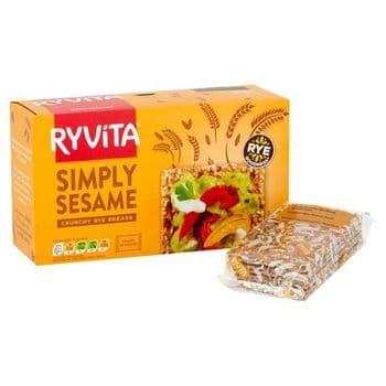 Ryvita Sesame Crisp Bread 250G