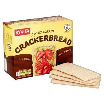 Ryvita Whole- Grain Cracker- Bread 125G