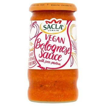 Sacla Bolognese Pasta Sauce With Pea Protein 350G