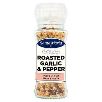 Santa Maria Roasted Garlic & Pepper Grinder 80G