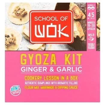 School Of Wok Gyoza Kit Ginger & Garlic 215G
